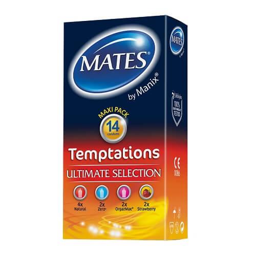 mates temptations condoms 14pk