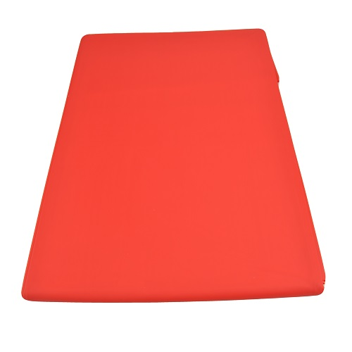 bound to please pvc bed sheet red