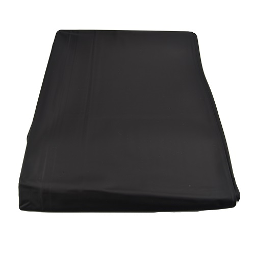 bound to please pvc bed sheet black