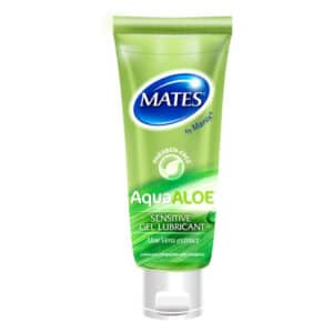 mates aqua aloe gel lubricant 80ml