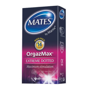 mates orgazmax condoms 14pk