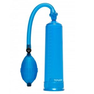 penis enlarger power pump blue toyjoy