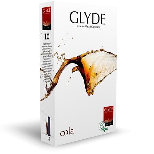 glyde cola safe sex condoms