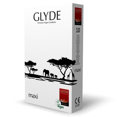 glyde maxi 10 condoms pack