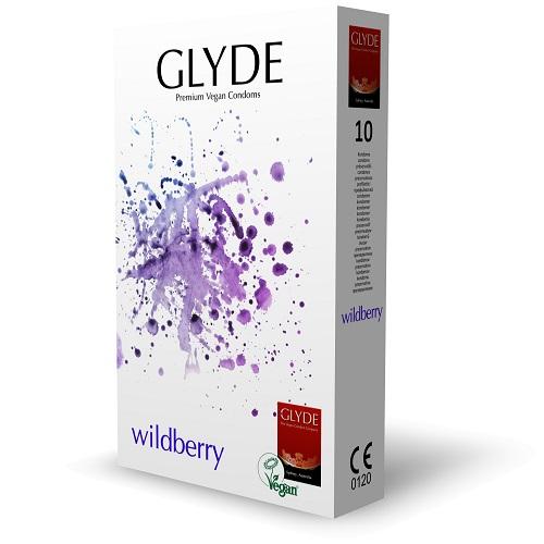 glyde wildberry vegan condoms