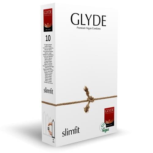glyde-slimfit 10 condoms pack