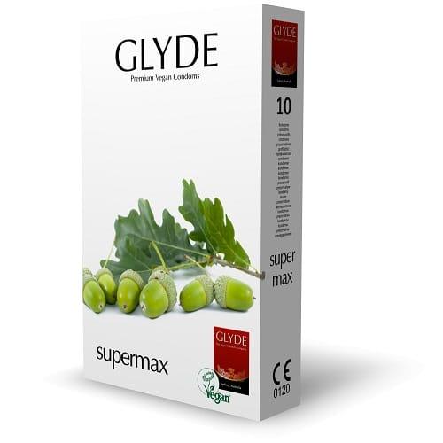 glyde super max vegan condoms