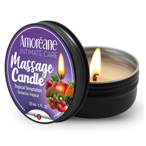 Amoreane Massage Candle Sparkling tropical temptation